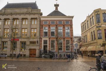 kantoor huren stadscafe Pronk Vismarkt Groningen kantoorruimte