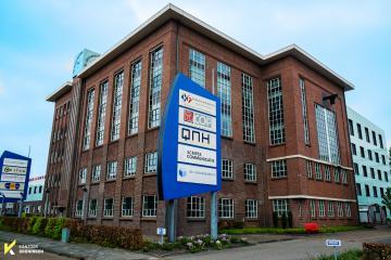 Kantorenlocatie bedrijfsverzamelgebouw de Ommelanden Friesestraatweg Groningen